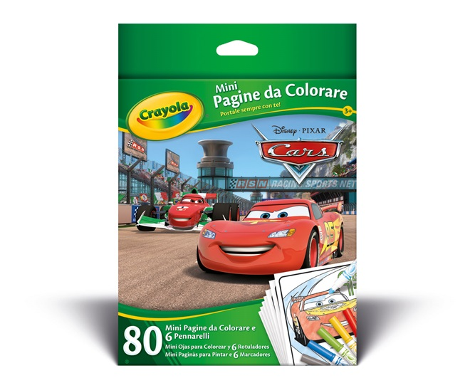 Mini pagine da colorare Cars