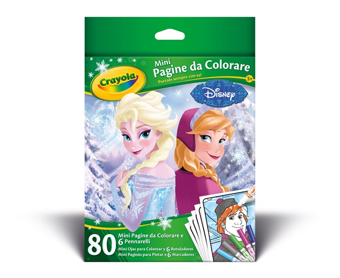 Mini pagine da colorare Frozen